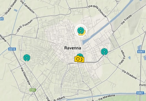 Ravenna - Guarda il percorso su Google Map